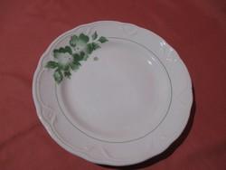 Zöld virágos Kispesti Gránit tányér