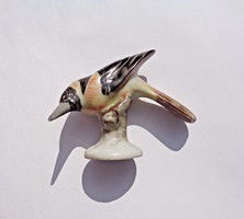 1942-es Herendi porcelán, apró madár