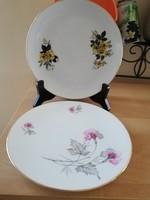 Virágos reggeliző bavaria tányérok