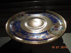 Altwien-kézzel festett-aranymintás kistányér-11,2 cm