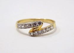 Köves arany gyűrű (ZAL-Au78288)
