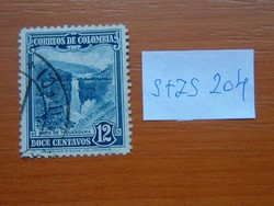 COLOMBIA KOLUMBIA 12 C 1937 Definitive Issues S+ZS204