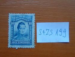 COLOMBIA KOLUMBIA 10 C 1920 -1924 címer, személyek Cordoba S+ZS199