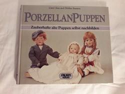 Porcelan puppen - porcelán babák könyv