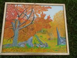 Zórád Géza -Késő őszí táj