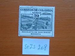 COLOMBIA KOLUMBIA 10 C 1954 Légiposta - Helyi motivációk S+ZS208