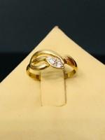 Kecses arany gyűrű 14 karátos