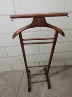 Régi, olasz, fából készült szobainas