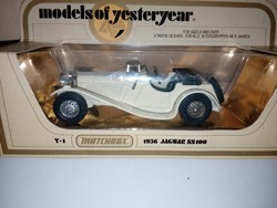 Matchbox Y-1 1936 JAGUAR 1978.