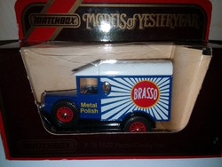 Matchbox Y-19 1929 MORRIS COWLEY VAN