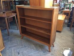 Mid century retro polc szekrény régi könyvszekrény