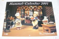 Hummel 2001 naptár, kalendárium