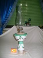 Antik asztali petróleum lámpa - talpa sérült