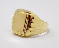 Arany férfi pecsétgyűrű (ZAL-Au77413)