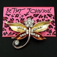 Betsey Johnson Szitakötő bross