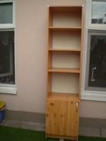 6 polcos, 1 ajtós konyhai magas szekrény olcsón eladó