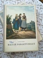 Kresz Mária: Magyar parasztviselet Akadémiai Kiadó 1956
