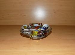 Vastag Muranoi üveg tál (20/d)