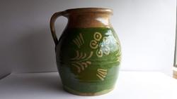 Antik cserépkorsó, kancsó