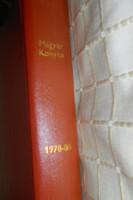 Magyar Konyha Magazin 1978-1980  évfolyam műbőrkötésben