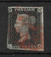 1840 Black Penny!!A világ első bélyege!!!