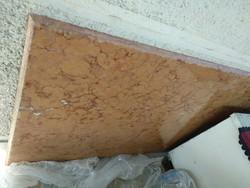Hatalmas rózsaszín kőlap bútor vagy asztallap gránit vagy márvány lap 148x79x2 cm