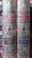 Az Athenaeum kézi lexikona I-II.