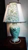 Lenyűgöző szépségű régi-új Herendi porcelán ZOVA asztali lámpa