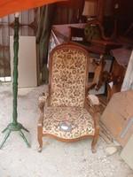 Antik, massziv restaurálandó, fotel:20000Ft+futár