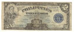 2 peso 1944 Fülöp-szigetek Victory