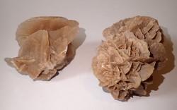 2 db régi sivatagi rózsa ásvány virág