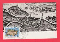 Carte Maximum - Győr városa 700 éves 1971 (060)