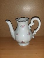 Zsolnay porcelán barokk pajzspecsétes kávé kiöntő (g)