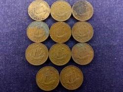 11 db angol half Penny, mind más év (id8899)