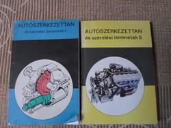 Autószerkezettan és szerelési ismeretek I-II. (Műszaki Könyvkiadó, 1991)