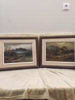 Antik festmények! 1880-ból!