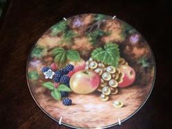 Lenyűgöző  gyümölcsös    Royal Albert   porcelán   tányérok
