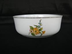 Hollóházi porcelán pogácsás tál