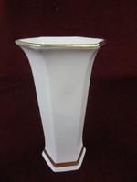 Seltman német porcelán váza, retro, 16,5 cm magas.