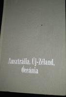 Ausztrália, új Zéland, óceánia útikönyv, ajánljon!