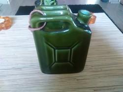 Kerámia benzines kanna italos palack