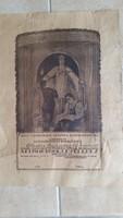 Ipartestületi Elismerőoklevél eladó! 1928-ból