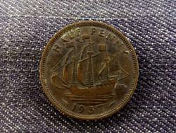 Anglia VI. György 1/2 Penny 1937 (id8761)