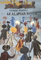 Székács Zoltán (1921-1983): Az Alapiak kincse, címlapterv