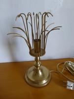 Extrém ritka,retro,vintage,réz asztali lámpa,designe lámpa,hangulat lámpa