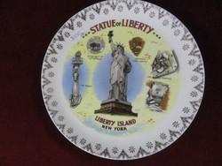 Statue of liberty Gift Center ajándék tányét NEW York-ból.