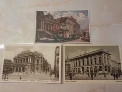 Corvin A Jó Minőségek Áruháza/Budapest M.kir.Operaház/ Budapest, Királyi várpalota  1916. ápr. 12