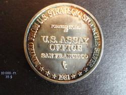 US.stratégiai ezüst érme