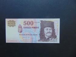 500 forint 2006 EC  UNC Nagyon szép bankjegy !