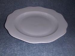 Jelzett cseh porcelán kínáló tál átmérő 33 cm (ap)
